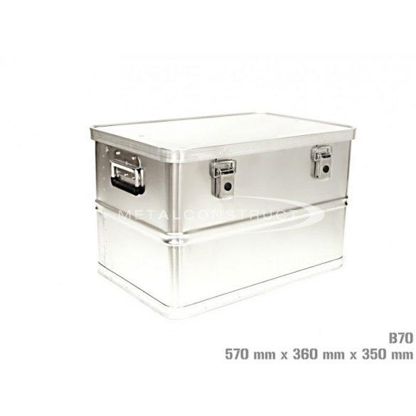 B-90 alumínium box, 755x350x350 mm