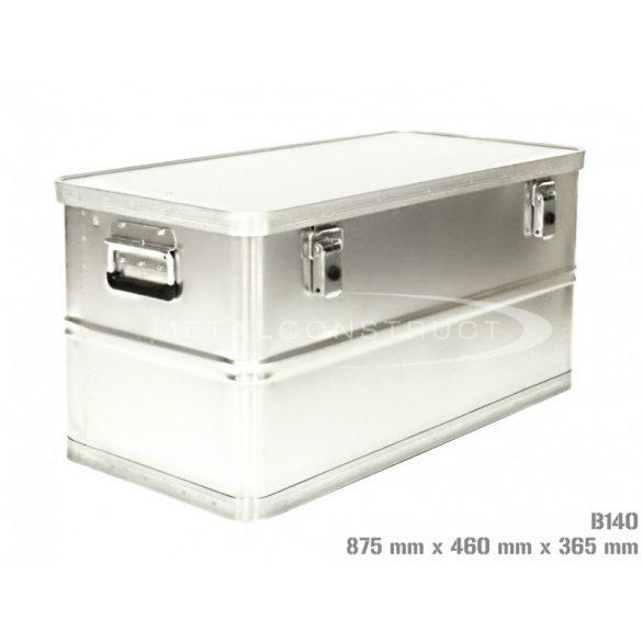 B-140 alumínium box, 875x460x365 mm