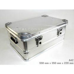 A-42 alumínium box, 550x350x220 mm
