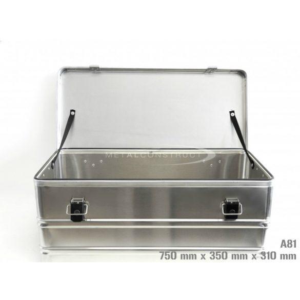 A-81 alumínium box, 750x350x310 mm