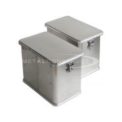 Motoros box C-32 zár+merevítés (jobb)