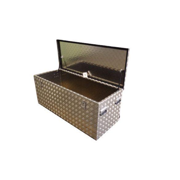 Cseppmintás doboz 1500x500x500 mm (375 l) gázrugóval, fogantyúval