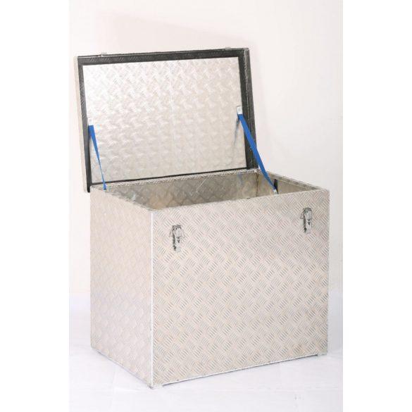 Cseppmintás doboz 500x350x400 mm (70 l) gázrugó nélkül (hevederrel)