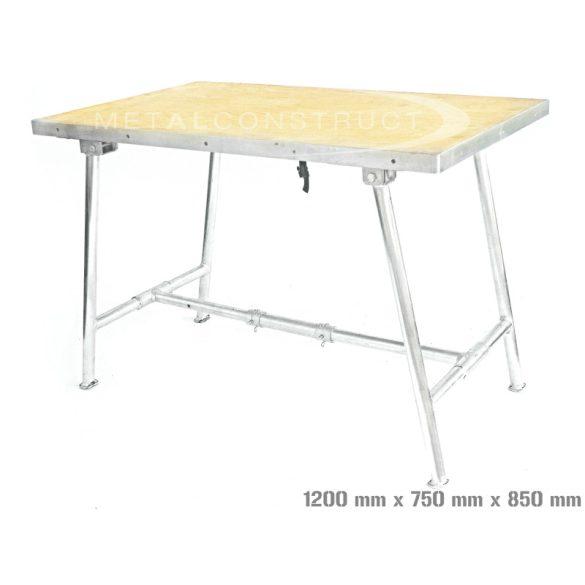 Munkaasztal 1200x750x850 mm
